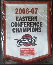 2006-07 NBA EASTERN CONFERENCE CHAMPIONS MINI BANNER Cleveland Cavaliers MINT!