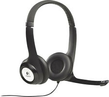 Logitech - H390 USB Headset with Noise-Canceling Microphone - Black