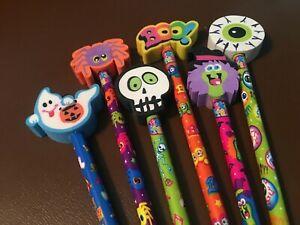 New RARE 1990s Vintage Lisa Frank Halloween Holiday Unsharpened Pencils
