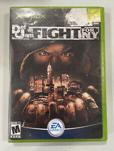 Def Jam: Fight for NY (Microsoft Xbox 2004) Complete CIB W. Manual Used Game!