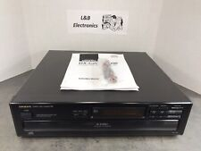 Onkyo DX-C106 6 Disc CD Compact Disc Changer/Player W/Cables, Manual - MINT!