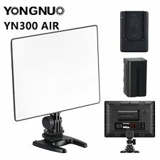 YONGNUO YN300 AIR Pro LED Camera Video Light For Canon Nikon + Battery + Charger