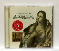 TALLIS SCHOLARS, PETER PHILIPS - ALPHONSO LOBO Sacred Music GIMELL CD NM