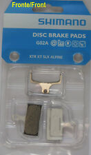 XTR Pareja almohadillas originales Shimano G02A resina AL M785/M985/M988/M9000/