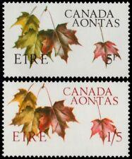 ✔️ IRELAND 1967 - AONTAS MAPLE LEAVES - SC. 234/235 **  MNH OG [IR0194]