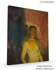 Canvas Expressionism Portrait Art Prints