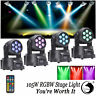 4PCS 7 LED 105W RGBW 4 in 1 LED Moving Head Stage Lighting DMX512 DJ