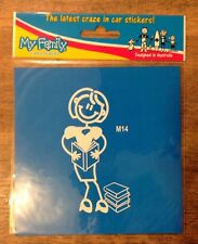 My Family™ Stickers The Original Australian Car Sticker Family M14