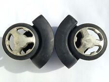 IT LUGGAGE lightest SUITCASE spare REPLACEMENT wheels PAIR free UK postage