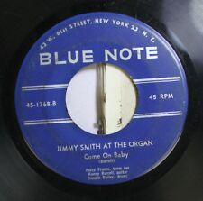 Jazz 45 Jimmy Smith At The Organ - Come On Baby / See See Rider On Blue Note