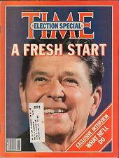 Time November 17 1980 Election Special Ronald Reagan w/ML VG 010417DBE2