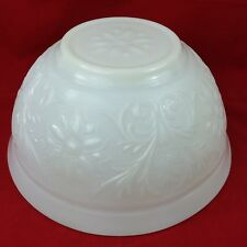 gd Anchor Hocking 50s Sandwich Ivory Milk Glass Punch Bowl REPLACEMENT BOWL ONLY