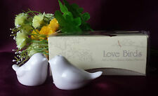 50x LOVE BIRDS SALT & PEPPER SHAKERS PAIR WEDDING PARTY GIFT FAVOR BOMBONIERRE