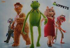 DIE MUPPETS - A3 Poster (ca. 42 x 28 cm) - Film Clippings Kermit Fan Sammlung