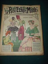 Le petit ECHO de la MODE du 28 janvier 1934 n°4  QUELQUES FLEURS S166