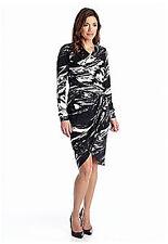 Muse Wrap Knit Dress NWT 4