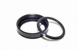 Metal Filter Ring and Retainer 30mm