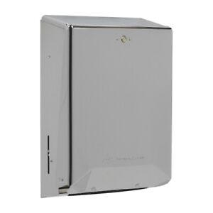 Georgia-Pacific 56620 Folded Towel Dispenser in Polished Chrome C-FOLD/M-FOLD