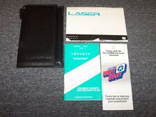 1993 Plymouth Laser Hatchback Original Owner's Owner Manual Set RS 1.8L 2.0L