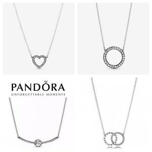 Pandora Necklace All styles ALE925 With Gift Pouch & gift bag