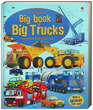 Usborne Big Book of Big Trucks (bb) by Megan Cullis  fold out pages NEW