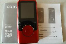 COBY MP620-4G 4 GB Digital Media MP3 Video Player (Red)