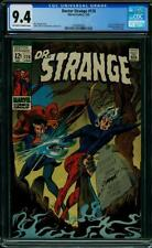 Doctor Strange 176 CGC 9.4 -- 1969 -- Sons of Satannish. New logo. #1560860005