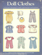 Doll Clothes Book for Tiny Tots, Cabbage Patch, Corolle, Thumbelina