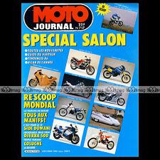MOTO JOURNAL N°717 HONDA CX 500 BMW K100 DOMANI COLUCHE YAMAHA OW 31 SALON 1985