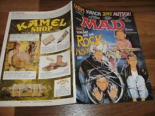 MAD  # 235 -- MAD-LEHRGANG für LÄRM / der NEUE MUSKELKRAMPF:  RAMBO III
