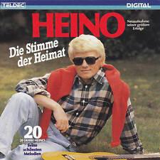 HEINO - CD - DIE STIMME DER HEIMAT - 20 JAHRE HEINO