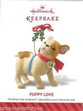 Hallmark 2014 Register to Win Puppy Love CREASE IN BOX