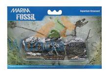 MARINA JURASSIC WORLD PARK 3 PIECES T REX FOSSIL FISH TANK VIVARIUM DECOR 12346