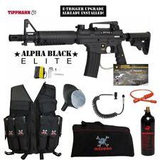 Tippmann Us Army Alpha Elite Tactical E-Grip Lt Atk Vest Paintball Gun Package