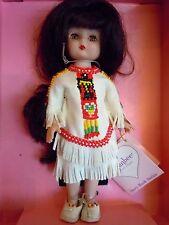 "Nib 1994 Effanbee Pocahontas 9"" Indian Doll Storybook Series Mv188"