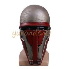 Star Wars Darth Revan Mask Cosplay The Revanchist Helmet Halloween Latex Props