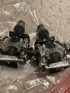 Specialized SPD pedals, clipless pedals, dual entry With Shoes 46