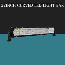 "Quad-Row 22inch 2880W Curved LED Light Bar Spot Flood Truck Offroad VS 52""42""32"""