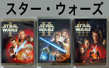 3 JAPAN import DVD editions Star Wars trilogy Episode I-III Out of Print English