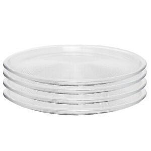 4x Thomas Trend Glasteller Speiseteller Platzteller Dinner-Plate 28 cm