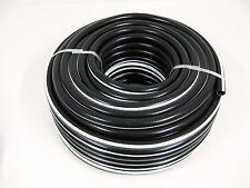 Druckluftschlauch 13 mm x 3 mm 50m schwarz flexibel Luftschlauch Gewebeschlauch