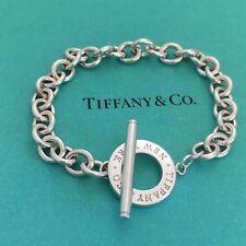 Tiffany & Co New York Sterling Silver Toggle Bracelet