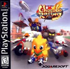 Chocobo Racing PS1 Great Condition Fast Shipping