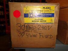 BRAND NEW IN BOX PS4203 30A, 3PH.,4W., 240V BUSPLUG, I-LINE BUSWAY SWITCH