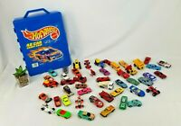 1998 Mattel Hot Wheels 48 Count Car Carry Case Style 20020, W 48 Collector CARS