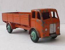 Dinky Forward Control Lorry Truck - orange w green hubs - 25r