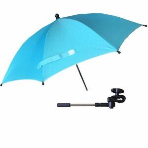 Baby Stroller Accessories Umbrella Colorful Kids Children Pram Sunshade Folding