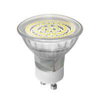 LED Illuminant Lamp Light Spotlight lights 60 SMD ´s GU10 230V Warm White