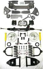 Chevy Truck Bolt On Mustang II Power Front End Suspension Kit Stock Slotted