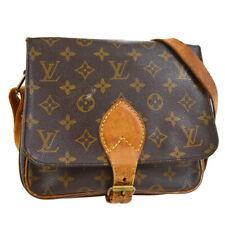 LOUIS VUITTON CARTOUCHIERE MM SHOULDER BAG PURSE MONOGRAM M51253 cf 30855